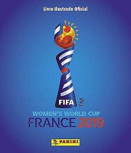 PRÉ-VENDA Álbum Copa do Mundo Feminina 2019 (Capa Dura) com 12 envelopes.