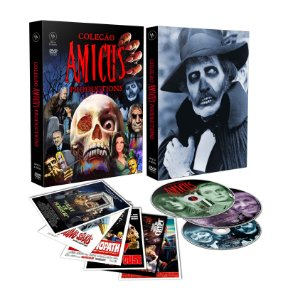 PRÉ-VENDA Coleção Amicus Productions (Digistak com 3 DVD's)