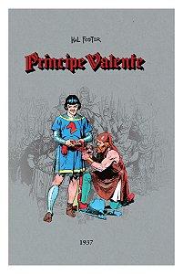 Príncipe Valente #1 (1937) + Brinde de lançamento (fascículo).
