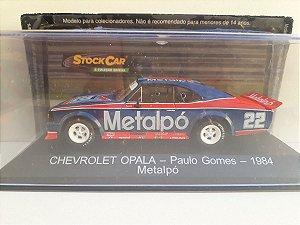 Chevrolet Opala (1984) - Paulo Gomes - STOCK CAR, A COLEÇÃO OFICIAL. - Ed. 43