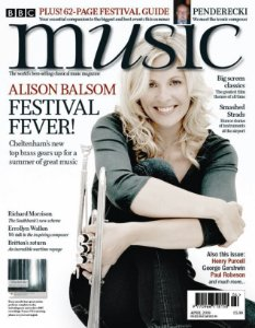 BBC MUSIC MAGAZINE - APRIL 2019