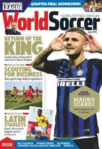 WORLD SOCCER APRIL 2019 ISSUE