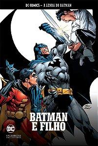 Coleção Graphic Novels Batman - A lenda do batman - Vol. 1 - Batman e Filho