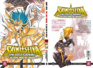 SAINT SEIYA - CAVALEIROS DO ZODÍACO - THE LOST CANVAS VOL. 8