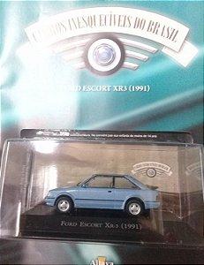 Ford Escort XR3 (1991) - Carros inesquecíveis do Brasil - Ed. 147