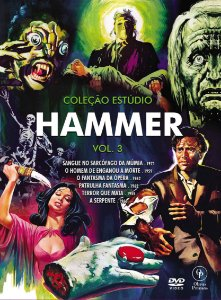 PRÉ-VENDA Coleção Estúdio Hammer Vol. 3 (Digistak com 3 DVD's)