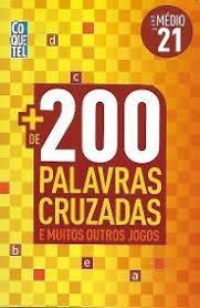 200 PALAVRAS CRUZADAS ED 21