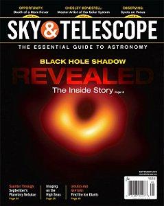 SKY E TELESCOPE DE SETEMBRO DE 2019