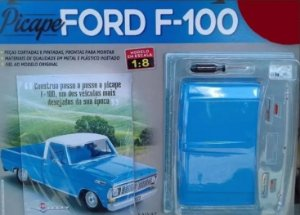 PICAPE FORD F-100 PARA MONTAR VOL.1