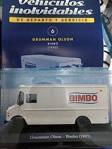 COLECIONÁVEL GRUMMAN OLSON-BIMBO (1993) COM FASCÍCULO