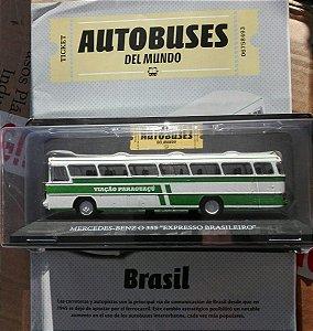 """COLACIONÁVEL MERCEDES-BENZ O 355 """"EXPRESSO BRASILEIRO"""" COM FASCÍCULO"""