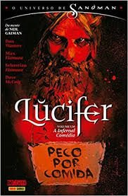 O UNIVERSO SANDMAN-LUCIFER PECO POR COMIDA