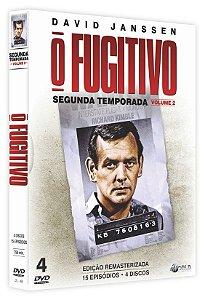 PRÉ-VENDA O FUGITIVO - Segunda Temporada - Vol. 2