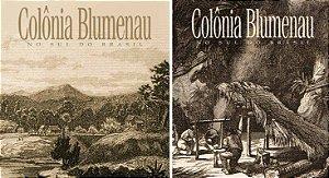 COLONIA BLUMENAU NO SUL DO BRASIL EM DOIS VOLUMES
