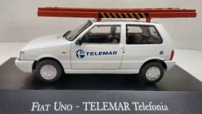 COLECIONÁVEL FIAT UNO-TELEMAR TELEFONIA -VEÍCULOS DE SERVIÇO