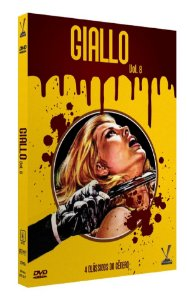 GIALLO vol. 8  ED. LIMITADA COM 4 CARDs  (Caixa com 02 DVDs)