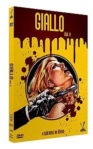 PRÉ-VENDA GIALLO vol. 8  ED. LIMITADA COM 4 CARDs  (Caixa com 02 DVDs)