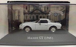 COLECIONÁVEL CARROS INESQUECÍVEIS  DO BRASIL-MALZONI GT (1965)