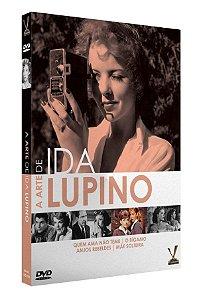 PRÉ-VENDA A ARTE DE IDA LUPINO  ED. LIMITADA COM 4 CARDs  (Caixa com 02 DVDs)
