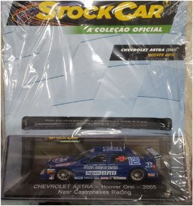 chevrolet astra - hoover orsi - 2005 nars castroneves racing stock car ed 57