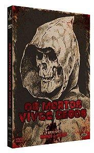QUADRILOGIA DOS MORTOS-VIVOS CEGOS  EDIÇÃO LIMITADA COM 4 CARDs  (Caixa com 02 DVDs)
