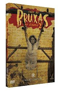 PRÉ-VENDA CAÇA ÀS BRUXAS NO CINEMA vol. 2  EDIÇÃO DEFINITIVA LIMITADA COM 4 CARDs  (Caixa com 02 DVDs)