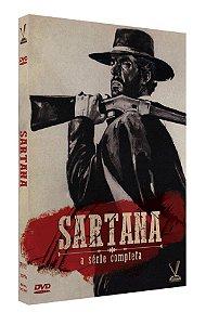 SARTANA – A SÉRIE DE CINEMA COMPLETA  EDIÇÃO DEFINITIVA LIMITADA COM 6 CARDs  (Caixa com 03 DVDs)