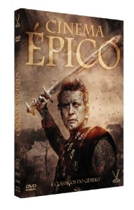 CINEMA ÉPICO  EDIÇÃO LIMITADA COM 4 CARDs  (Caixa com 02 DVDs)
