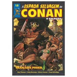 COLEÇÃO A ESPADA SELVAGEM DE CONAN VOL 15