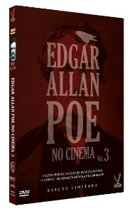 EDGAR ALLAN POE NO CINEMA vol. 3 – Ed. Limitada com 4 Cards (2 DVDs)