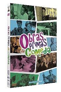 OBRAS-PRIMAS DA COMÉDIA vol. 1 – Ed. Limitada com 6 cards (3 DVDs)