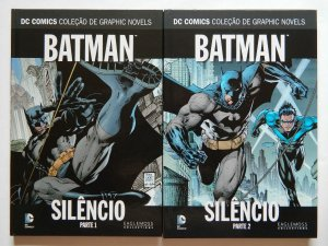 kit batman silencio vol 1 e 2