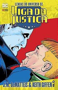 Lendas do universo dc - liga da justiça ed 4