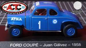 Ford coupé - Juan galvez - 1958 miniatura colecionável