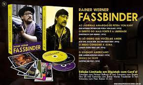 Pré-venda REINER WERNER FASSBINDER [DIGIPAK COM 2 DVD'S]