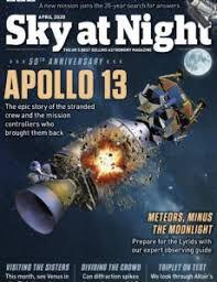 BBC SKY AT NIGHT DE ABRIL DE 2020
