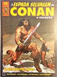 A espada selvagem de conan a coleção vol 13