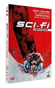 SCI-FI JAPONESA  EDIÇÃO LIMITADA COM 4 CARDs  (Caixa com 02 DVDs)