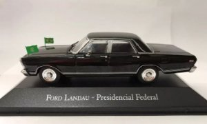Colecionável ford landau - presidencial federal - veículos de serviço ed 49