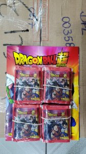 Álbum brochura dragon ball com 80 envelopes