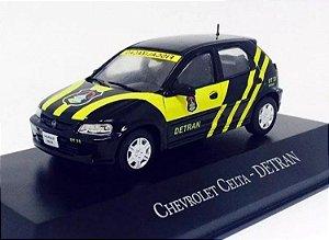 Colecionável Chevrolet celta - viatura do Detran-DF ed 48
