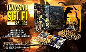 Pré-venda Invasão Sci-Fi - Dinossauros [Digipak com 2 DVD's]