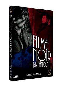 FILME NOIR BRITÂNICO EDIÇÃO DEFINITIVA LIMITADA COM 4 CARDs  (Caixa com 02 DVDs)
