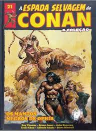 Coleção A espada selvagem de conan ed 21