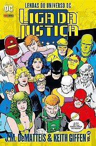 Lendas do Universo Dc - Liga Da Justiça edição 5