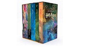 Box Coleção Completa Harry Potter Capa Tradicional