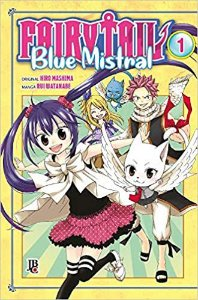 Kit Fairy Tail Blue mistral Edições 1,2,3 e 4