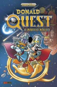 DONALD QUEST - O MARTELO MAGICO - GRAPHIC DISNEY - PANINI