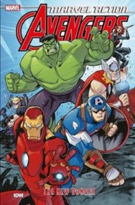 VINGADORES 1 - MARVEL ACTION - PANINI