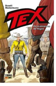 TEX - OS JUSTICEIROS DE VEGAS - PANINI